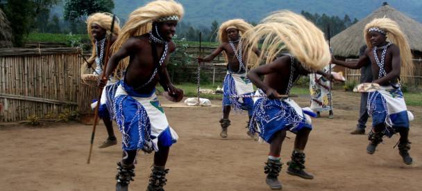 cuitural dance in Rwanda